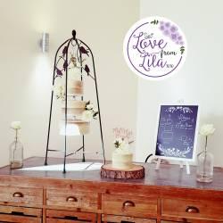 Love from lila xx - Hanging Wedding Cake Surrey