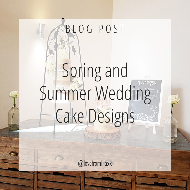 Spring and Summer Wedding Cake Designs v3