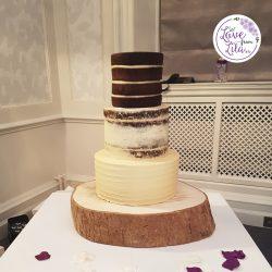 Love from lila xx - Buttercream Wedding Cake