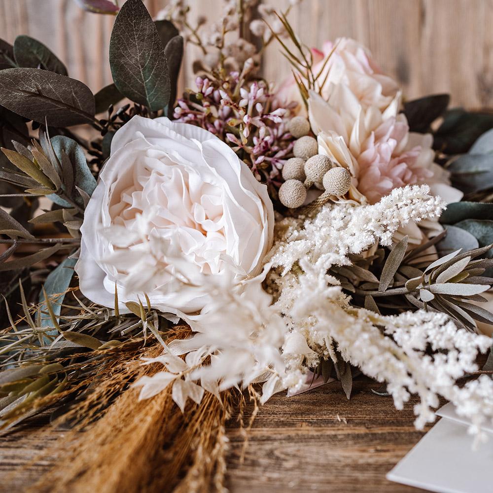 Wedding Bouquet Inspiration - Botley Hill Barn, Surrey - Love from Lila