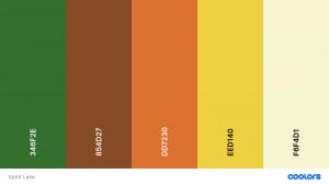 Boho Wedding Colour Scheme