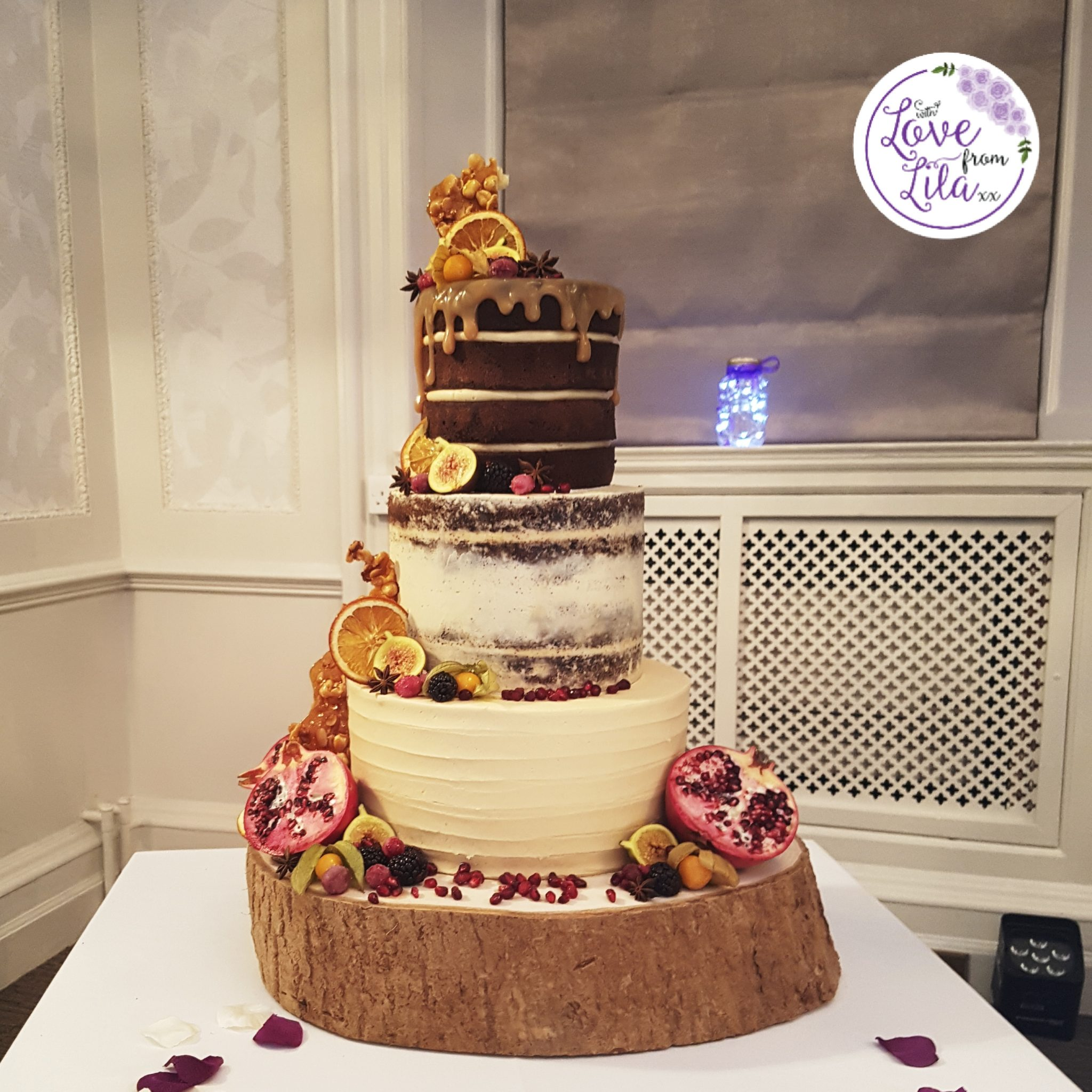 Love from lila xx - Guildford Wedding Cakes
