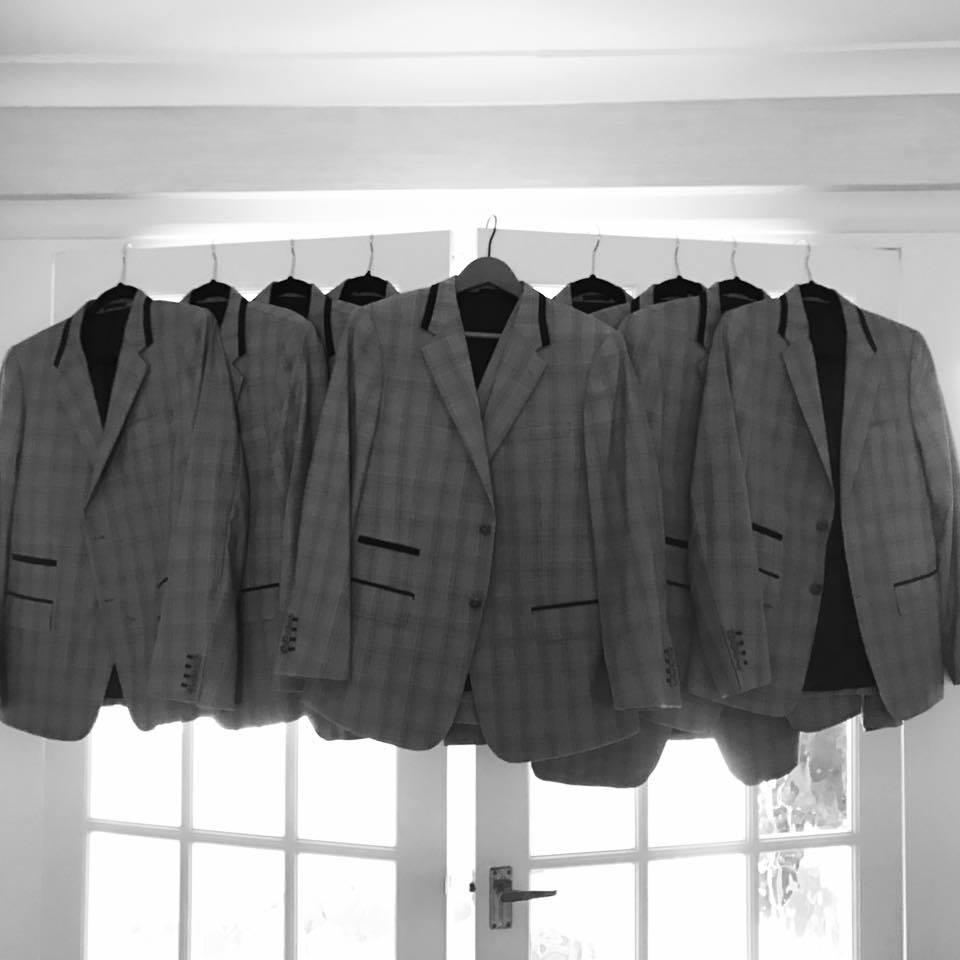 Bespoke Grey Wedding Suits