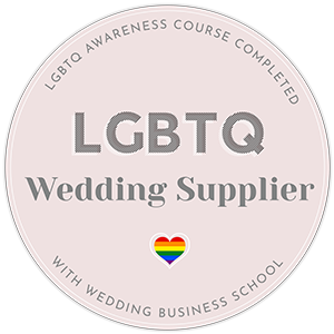 LGBT Wedding Suppliers - Surrey, Hampshire, Sussex, Berkshire - Love from Lila