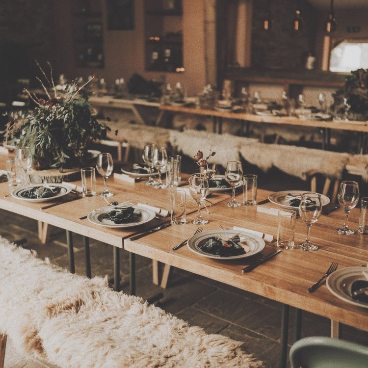 Rustic Barn Tablescape