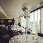 Silver Wedding Balloons