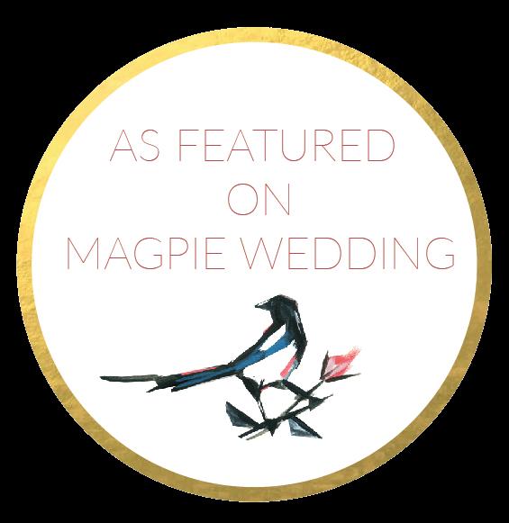 Magpie Wedding Featured Badge
